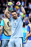 Esultanza Gianluigi Buffon Italy Celebration <br /> Toulouse 17-06-2016 Stade de Toulouse <br /> Football Euro2016 Italy - Sweden / Italia - Svezia Group Stage Group E<br /> Foto Massimo Insabato / Insidefoto