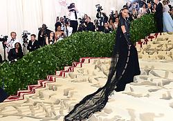 Bella Hadid attending the Metropolitan Museum of Art Costume Institute Benefit Gala 2018 in New York, USA.
