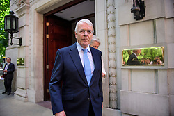 © Licensed to London News Pictures. 13/06/2017. London, UK. Former British prime minister JOHN MAJOR seen leaving Milbank Studios in London following a television interview in which he criticised a possible deal between the Conservative Party and the DUP. Over the weekend British prime minister Theresa May formed a new cabinet and continues discussions with the DUP in an attempt to form a new government. Photo credit: Ben Cawthra/LNP