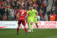 Brighton central midfielder, Dale Stephens (6)  during the Sky Bet Championship match between Middlesbrough and Brighton and Hove Albion at the Riverside Stadium, Middlesbrough, England on 7 May 2016. Photo by Simon Davies.