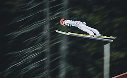 11.03.2020, Granasen, Trondheim, NOR, FIS Weltcup Skisprung, Raw Air, Trondheim, Damen, im Bild Daniela Iraschko-Stolz (AUT) // Daniela Iraschko-Stolz of Austria during women's 3rd Stage of the Raw Air Series of FIS Ski Jumping World Cup at the Granasen in Trondheim, Norway on 2020/03/11. EXPA Pictures © 2020, PhotoCredit: EXPA/ JFK