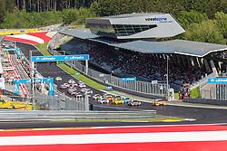 22.05.2016, Red Bull Ring, Spielberg, AUT, DTM Red Bull Ring, Rennen, im Bild Jamie Green (GRB, Audi RS 5 DTM , Antonio Felix da Costa (POR, BMW M4 DTM) // during the DTM Championships 2016 at the Red Bull Ring in Spielberg, Austria, 2016/05/22, EXPA Pictures © 2016, PhotoCredit: EXPA/ Dominik Angerer