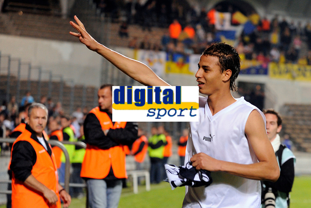 FOOTBALL - FRENCH CHAMPIONSHIP 2009/2010 - L1 - GIRONDINS BORDEAUX v FC SOCHAUX - 8/05/2010 - PHOTO JULIEN CROSNIER / DPPI - MAROUANE CHAMAKH (BDX)