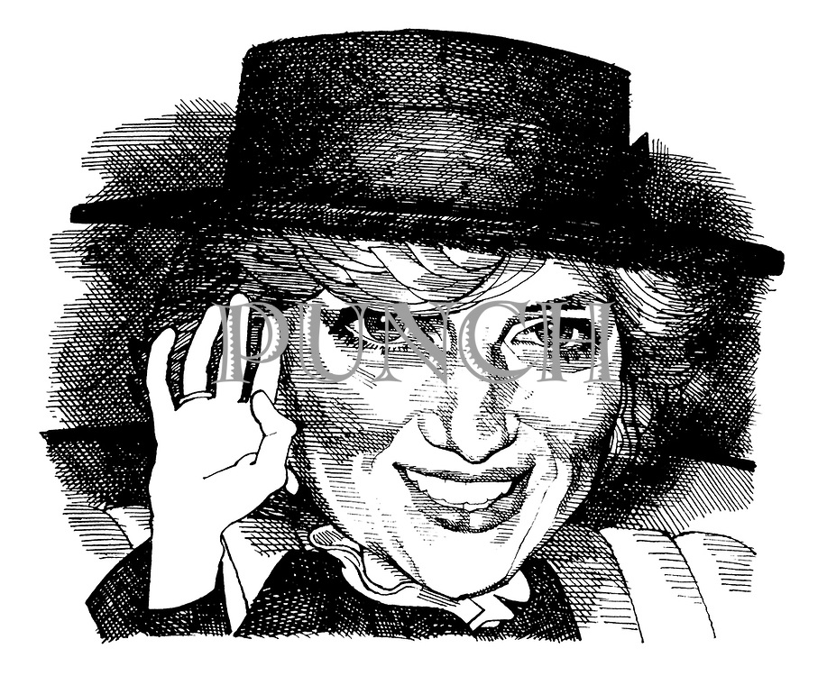 (Caricature of Diana, Princess of Wales)