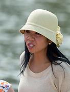 Henley, England.  Hats at Henley.  2015 Henley Royal Regatta, Henley Reach, River Thames. <br /> <br /> Wednesday  01/07/2015<br /> <br /> © Peter SPURRIER<br /> NIKON CORPORATION  NIKON D4  f6.3  1/1000sec  500mm  5.8MB