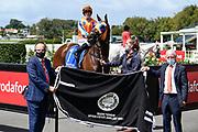 Joe Kamaruddin on Markus Aureius winner of Race 4, Graeme Thomson Antique & Estate Jewellery 1600.<br /> Vodafone Derby Day at Ellerslie Race Course, Auckland on Sunday 7th March 2021 during lockdown level 2.<br /> Copyright photo: Alan Lee / www.photosport.nz