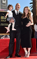 Jasmine Johnson and Lauren Hashian attend the ceremony honoring Dwayne Johnson aka The Rock with a star on the Hollywood Walk of Fame on December 13, 2017 in Los Angeles, California. Photo by Lionel Hahn/ABACAPRESS.COM