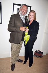 VISCOUNTESS GORMANSTON and BARON STEVEN BENTINCK at the launch party of Ingrid Seward's new book 'William & Harry - The People's Princes' held at 47 Hornton Court West, London W8 on 7th October 2008.