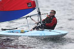 Peelport Clydeport Largs Regatta Week 2013 <br /> <br /> Topper Sailor , Callum Forsyth<br /> <br /> Largs Sailing Club, Largs Yacht Haven, Scottish Sailing Institute
