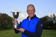Eddie McCormack (Galway) winner of the Connacht Mid Amateur Open, Roscommon Golf Club, Roscommon, Roscommon, Ireland. 17/08/2019.<br /> Picture Fran Caffrey / Golffile.ie<br /> <br /> All photo usage must carry mandatory copyright credit (© Golffile | Fran Caffrey)