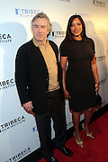 28 April 2011- New York,  NY-  l to r: Robert DeNario and Grace Hightower at The Tribeca Film Institute's 8th Annual Tribeca All Access (TAA) Legacy Celebration honoring Quincy Jones and held at Hiro Ballroom on April 28, 2011 in New York City. Photo Credit: Terrence Jennings
