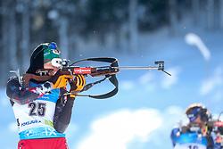 Lisa Theresa Hauser of Austria competes during the IBU World Championships Biathlon Women's 7,5 km Sprint Competition on February 13, 2021 in Pokljuka, Slovenia. Photo by Primoz Lovric / Sportida