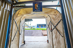 Mansfield Town players tunnel exit leading into the One Call Stadium - Mandatory by-line: Ryan Crockett/JMP - 24/07/2018 - FOOTBALL - One Call Stadium - Mansfield, England - Mansfield Town v Sheffield Wednesday - Pre-season friendly