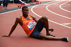July 22, 2018 - London, United Kingdom - Nathaniel Mitchell-Blake of Great Britain and Northern Ireland after the 200m Men.during the Muller Anniversary Games Day One at The London Stadium on July 22, 2018 in London, England. (Credit Image: © Action Foto Sport/NurPhoto via ZUMA Press)