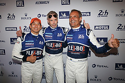 June 11, 2018 - Le Mans, FRANCE - 25 ALGARVE PRO RACING (PRT) LIGIER JSP217 GIBSON ATE DE JONG (NLD) MARK PATTERSON (USA) TACKSUNG KIM  (Credit Image: © Panoramic via ZUMA Press)