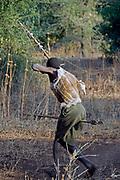 Hadzabe hunter. Lake Eyasi, northern Tanzania.