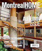 Cover of Montreal Home Magazine, Autumn Issue 2011 | design - architecture - landscape