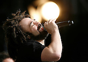 T In The Park  2008..13/07/08..Singer Adam Duritz of the  American Super Group Counting Crows  entertain the crowd during the Third and final day of this years, T IN THE PARK  Scotland's Premier Music Festival now in it's 15th year, and still going strong since 1994. The first 3 years were held at Strathclyde Country Park, but in 1997 moved to Balado near Kinross . At This years T in the Park, Balado - By Kinross today...Picture by Mark Davison /PLPA