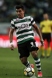 October 22, 2017 - Lisbon, Portugal - Sporting's midfielder Marcos Acuna in action  during Primeira Liga 2017/18 match between Sporting CP vs GD Chaves, in Lisbon, on October 22, 2017. (Credit Image: © Carlos Palma/NurPhoto via ZUMA Press)