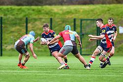 Charlie Branham of Bristol Academy U18 in action - Mandatory by-line: Craig Thomas/JMP - 03/02/2018 - RUGBY - SGS Wise Campus - Bristol, England - Bristol U18 v Harlequins U18 - Premiership U18 League