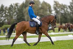 De Wispelaere Sam, BEL, Joly's Ice Queen<br /> Nationaal Kampioenschap LRV <br /> Ponies Dressuur - Oudenaarde 2020<br />  03/10/2020