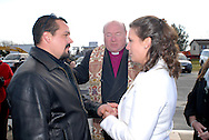 12/7/09 - 11:27:14 AM - FORTESCUE, NJ: Diana & Ken - December 7, 2009 - Fortescue, New Jersey. (Photo by William Thomas Cain/cainimages.com)