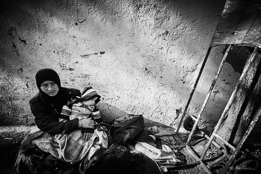 Street photography Istanbul Turkey / Homeless in Istanbul. Travel photography of Mike Mulcaire photographer