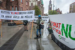 April 29, 2017 - Sweden - Malmö, Sweden. 29th April, 2017. People's Climate March in support of environmental protection. (Credit Image: © Tommy Lindholm/Pacific Press via ZUMA Wire)