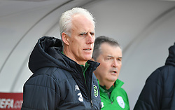 Republic of Ireland manager Mick McCarthy during the UEFA Euro 2020 Qualifying, Group D match at the Victoria Stadium, Gibraltar.