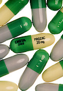 Prozac is a popular antidepressant drug.