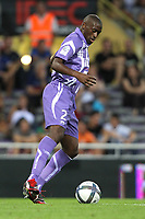 FOOTBALL - FRENCH CHAMPIONSHIP 2010/2011 - L1 - TOULOUSE FC v STADE BRESTOIS - 07/08/2010 - PHOTO ERIC BRETAGNON / DPPI - MOHAMED FOFANA (TFC)