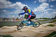 2021 UCI BMXSX World Cup 1&2<br /> Verona (Italy)<br /> Friday Practice<br /> WE + WU<br /> ^me#741 ARBOLEDA OSPINA, Diego Alejandro (COL, ME) GW