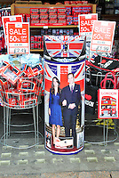 Prince William & Kate Middleton Royal Wedding Memorabilia on sale in London, UK, 25 February 2011:  Contact: Ian@Piqtured.com +44(0)791 626 2580 (Picture by Alan Roxborough)