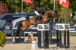 Andries Stephanie, BEL, Mystic Lady<br /> Belgian Championship 7 years old horses<br /> SenTower Park - Opglabbeek 2020<br /> © Hippo Foto - Dirk Caremans<br />  13/09/2020