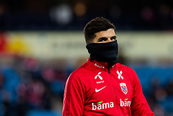 March 26, 2019 - Oslo, NORWAY - 190326 Tarik Elyounoussi of Norway ahead of the UEFA Euro qualifier football match between Norway and Sweden on March 26, 2019 in Oslo..Photo: Jon Olav Nesvold / BILDBYRÃ…N / kod JE / 160435 (Credit Image: © Jon Olav Nesvold/Bildbyran via ZUMA Press)