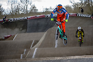 #243 (KIMMANN Justin) NED at the 2018 UCI BMX Superscross World Cup in Saint-Quentin-En-Yvelines, France.