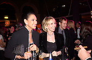 Gail Ronson and Trudie Styler, Fundraising party with airline theme in aid of the Old Vic and to celebrate the appointment of Kevin Spacey as artistic director.  <br />