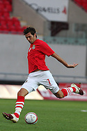 Joe Ledley of Wales.  friendly international match, Wales v Luxembourg at the Parc y Scarlets stadium in  Llanelli on Wed 11th August 2010. pic by Andrew Orchard, Andrew Orchard sports photography,
