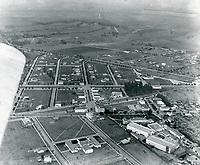 1920 Aerial of Thomas Ince's second studio in Culver City, CA