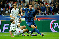 FOOTBALL - FIFA WORLD CUP 2014 - QUALIFYING - FRANCE v BIELORUSSIA - SAINT DENIS (FRANCE) - 11/09/2012 - PHOTO JEAN MARIE HERVIO / REGAMEDIA / DPPI - OLIVIER GIROUD (FRA)