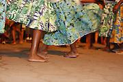 Chapada do Norte_MG, Brasil.<br /> <br /> Festa de Nossa Senhora do Rosario dos Pretos. Na foto, o grupo Curiango de Moca Santa durante o encontro dos grupos folcloricos<br /> na Chapada do Norte, Minas Gerais.<br /> <br /> Nossa Senhora do Rosario dos Pretos party. In this photo, Curiango de Moca Santa group during the meeting of folklore groups in Chapada do Norte, Brazil.<br /> <br /> Foto: LEO DRUMOND / NITRO