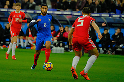 November 11, 2017 - Saint Denis, Seine Saint Denis, France - French team Midfield NABIL FEKIR in action during the friendly match between France and Wales at the Stade de France - St Denis - France.France beat Wales 2-0 (Credit Image: © Pierre Stevenin via ZUMA Wire)