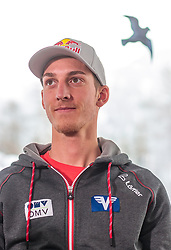 02.01.2018, Alpenhotel Karwendel, Leutasch, AUT, FIS Weltcup Ski Sprung, Vierschanzentournee, Innsbruck, Pressekonferenz OeSV, im Bild Gregor Schlierenzauer (AUT) // Gregor Schlierenzauer of Austria during a Pressconference of the Austrian Skijumping Team before the 3rd Stage Insbruck of the Four Hills Tournament of FIS Ski Jumping World Cup at Leutasch, Austria on 2018/01/02. EXPA Pictures © 2018, PhotoCredit: EXPA/ JFK