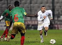 Fotball<br /> 20.11.2007<br /> Algerie v Mali<br /> Foto: Dppi/Digitalsport<br /> NORWAY ONLY<br /> <br /> FOOTBALL - FRIENDLY GAMES 2007/2008 - ALGERIA v MALI - 20/11/2007 - NADIR BELHADJ (ALG)