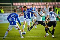 Tippeligaen , <br /> Fotball , <br /> 16.06.2011 , <br /> Sarpsborg stadion , <br /> Sarpsborg 08 v Stabæk fotball , <br /> Morten Giæveri aksjon , <br /> Foto: Thomas Andersen