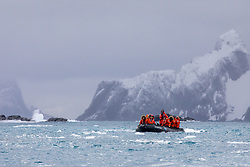 Guests On Zadiak Viewing Point Wild, Elephant Island