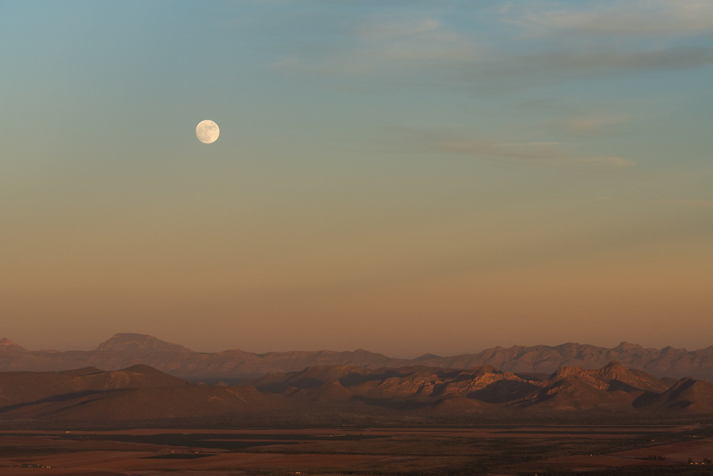 Supermoon over the Sonora Desert. Personal project