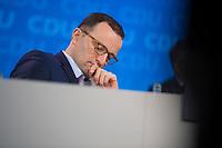 DEU, Deutschland, Germany, Berlin,26.02.2018: Der designierte Bundesgesundheitsminister Jens Spahn (CDU) beim Parteitag der CDU in der Station. Die Delegierten stimmten mit großer Mehrheit für die Neuauflage der Großen Koalition (GroKo).