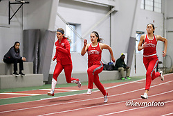 BU women warmup<br /> Multi-team Meet<br /> Indoor Track & Field