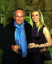 SIR RALPH HALPERN and his daughter MISS JENNY HALPERN at an award ceremony in London on 9th December 1999.MZX 99